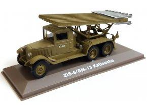 Atlas Models - ZIS-6/BM-13 Kaťuša, sovětská armáda, 1/43