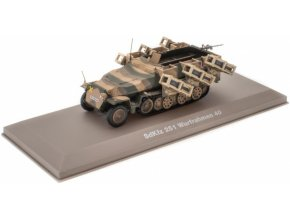 Atlas Models - Sd.Kfz.251/1 ''Hakl'' s Wurfrahmen, Wehrmacht, Německo, 1/43