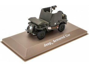 Atlas Models - Jeep Willys MB, US Army, 1/43
