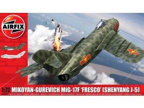 """Airfix - Mikojan-Gurevič MiG-17 """"Fresco"""", Classic Kit A03091, 1/72"""