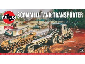 Airfix - Scammell Tank Transporter, Classic Kit VINTAGE A02301V, 1/76