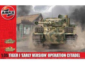 "Airfix - Pz.Kpfw.VI Tiger I ""Early Version"", Wehrmacht, operace Citadela, Classic Kit A1354, 1/35"