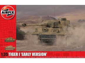 Airfix - Pz.Kpfw.VI Tiger I Early Production, Classic Kit A1357, 1/35