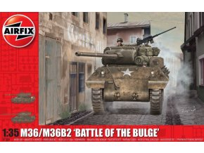 "Airfix - M36/M36B2 Jackson, ""Battle of the Bulge"", Classic Kit A1366, 1/35"