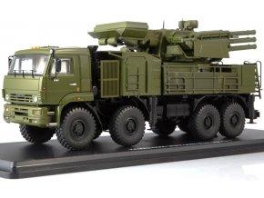 Start Scale Models - KAMAZ-6560 Pantsir-S1 / SA-22 Greyhound, hybridní samohybný protiletadlový systém, Rusko, 1/43