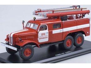Start Scale Models - ZIL-157K PMZ-27, hasiči, DPD Dzerzhinsky kolkhoz, 1/43