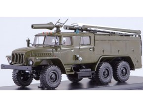 Start Scale Models - UrAL-43202 AC-40 PM-102B, hasiči, 1/43