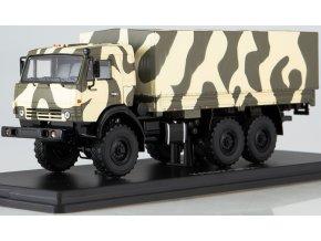 """Start Scale Models - KAMAZ-53501 """"Mustang"""" 6x6, nákladní, Rusko, 1/43"""