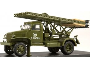 Start Scale Models - Chevrolet G7107 s raketometem BM-13 Kaťuša, 1/43