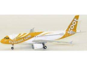 JC Wings - Airbus A320-232, společnost Scoot, Singapur, 1/200
