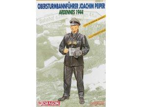 Dragon - figurka SS-Obersturmbannführer Joachim Peiper, Ardeny, 1944, Model Kit 1620, 1/16