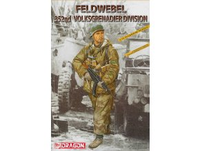 Dragon - figurka Feldwebel, 352. Infanterie-Division, Model Kit 1629, 1/16