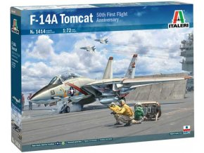Italeri - Grumman F-14A Tomcat, Model Kit 1414, 1/72