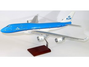 Premium Models - Boeing B747-400, dopravce KLM Royal Dutch Airlines, New Colour scheme Nizozemsko, 1/100