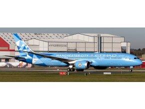 "JC Wings - Boeing B787-9 Dreamliner, dopravce Etihad Airways ""Manchester City Livery"", Spojené Arabské Emiráty, 1/400"