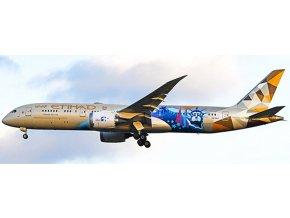 "JC Wings - Boeing B787-9, dopravce Etihad Airways ""Choose the USA Livery"", Spojené Arabské Emiráty, 1/400"