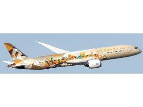 """JC Wings - Boeing B787-9, dopravce Etihad Airways """"Choose Italy Livery"""", Spojené Arabské Emiráty, 1/400"""