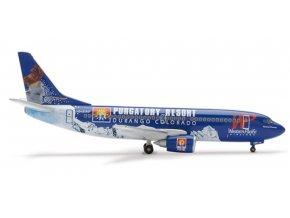 Herpa - Boeing B737-317, dopravce Western Pacific, USA, 1/400