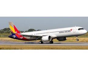 JC Wings - Airbus A 321 neo, společnost Asiana Airlines, Jižní Korea, 1/400