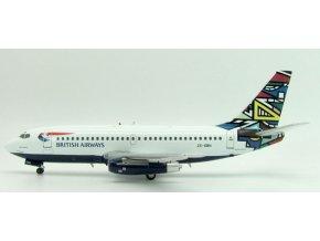 Inflight200 - Boeing B 737-244, dopravce British Airways, Velká Británie, 1/200