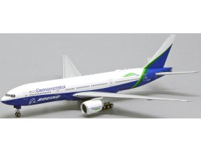 "JC Wings - Boeing B777-200, společnost Boeing Aircraft Company, ""Eco Demonstrator Livery"", USA, 1/400"