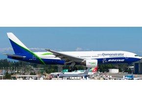 "JC Wings - Boeing B777-200, Boeing Company ""Eco Demonstrator Livery"", USA, 1/400"