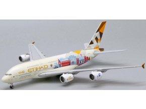 "JC Wings - Airbus A380-800, společnost Etihad Airways, ""Choose the United Kingdom"" A6-APC, Spojené Arabské Emiráty, 1/400"
