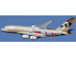 JC Wings - Airbus A380-800, společnost Etihad Airways, Spojené Arabské Emiráty, 1/400