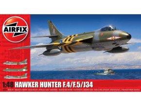 Airfix - Hawker Hunter F.4/F.5/J.34, Classic Kit A09189, 1/48