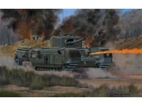 Airfix - Churchill Crocodile, Classic Kit VINTAGE A02321V, 1/76