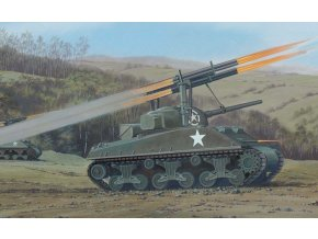 Airfix - M4 Sherman Calliope, Classic Kit VINTAGE A02334V, 1/76