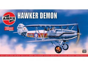 Airfix - Hawker Demon, Classic Kit VINTAGE A01052V, 1/72