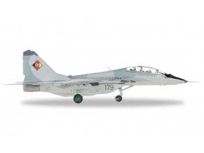 Herpa - MiG-29UB Fulcrum, východní Německo, Jagdfliegergeschwader 3 , 1/72, SLEVA 23%
