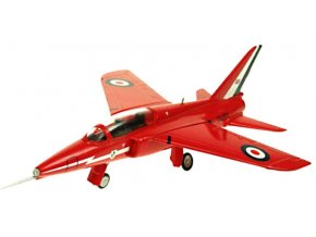 Aviation 72 - Folland Gnat T.Mk 1, RAF Red Arrows, XR540, 1/72