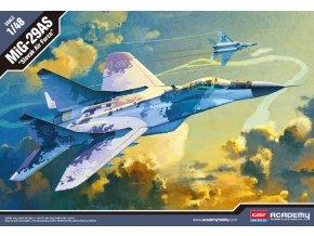 Academy - Mikojan-Gurevič MiG-29AS Fulcrum, slovenské letectvo, Model Kit 12227, 1/48