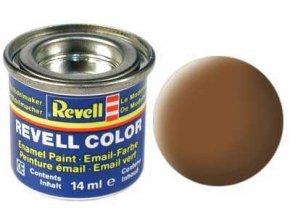 Revell - Barva emailová 14ml - č. 82 matná temná země RAF (dark-earth mat RAF), 32182