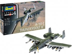 Revell - Fairchild A-10C Thunderbolt II, Plastic ModelKit 03857, 1/72