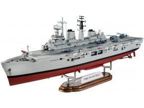 Revell - HMS Invincible, Válka o Falklandy, Plastic ModelKit 05172, 1/700