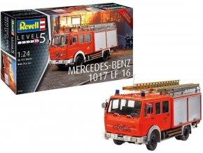 Revell - Mercedes-Benz 1017 LF16, Plastic ModelKit 07655, 1/24
