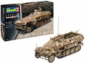 """Revell - Sd.Kfz.251/1 Ausf.A """"Hakl"""", Plastic ModelKit 03295, 1/35"""