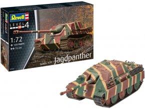 Revell - Sd.Kfz.173 Jagdpanther, Plastic ModelKit 03327, 1/72