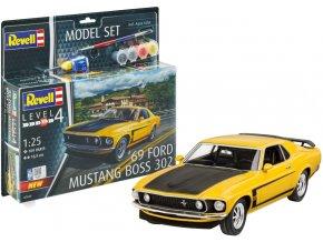 Revell - Boss 302 Mustang 1969, ModelSet 67025, 1/25