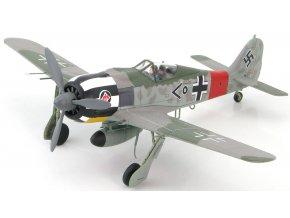HobbyMaster - Focke Wulf Fw-190A, Luftwaffe, I./JG 1, Wilhelm Krebs, 1944, 1/48