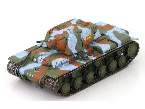 HobbyMaster - KV-1, finská armáda, 1.tanková brigáda, 1944, 1/72