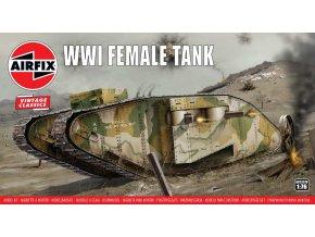 Airfix - Female Tank, Classic Kit VINTAGE A02337V, 1/76