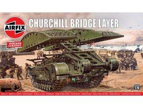 Airfix - Churchill - mostní tank, Classic Kit VINTAGE A04301V, 1/76