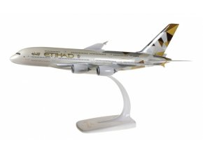 "Herpa - Airbus A380-861, společnost Etihad Airways, ""2010s - Facets of Abu Dhabi"" Colors, Spojené Arabské Emiráty, 1/250"