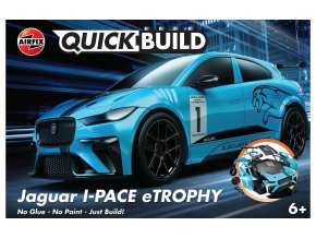 Airfix - Jaguar I-PACE eTROPHY, Quick Build J6033