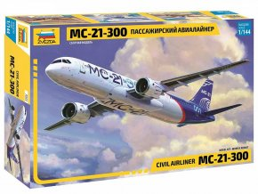 Zvezda - Irkut MS-21-300, Model Kit 7033, 1/144
