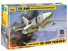"Zvezda - Suchoj Su-24M ""Fencer D"", Model Kit 7267, 1/72"